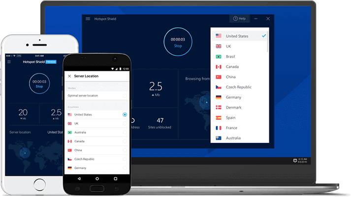VPN - Hotspot Shield - Download Our VPN Service