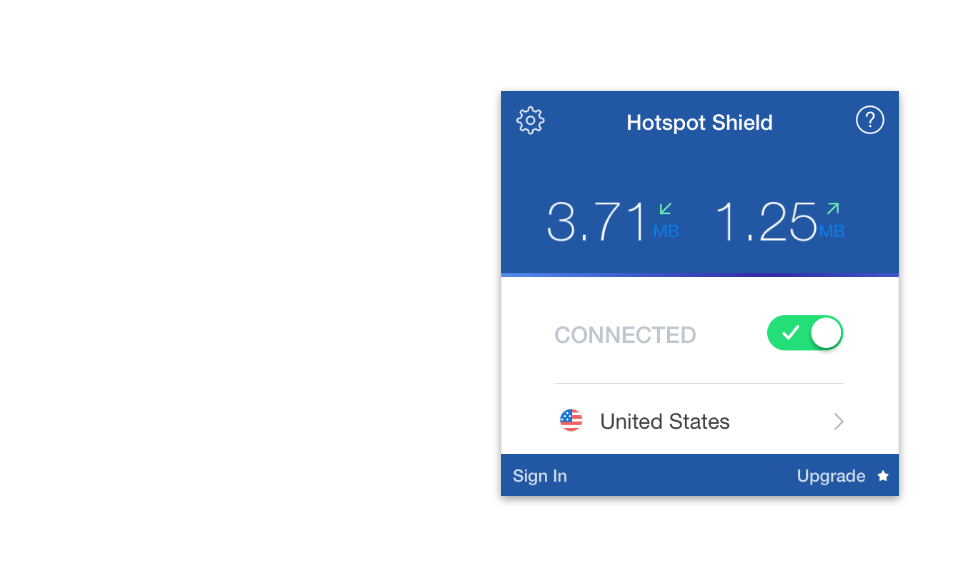 Hotspot Shield VPN for MAC